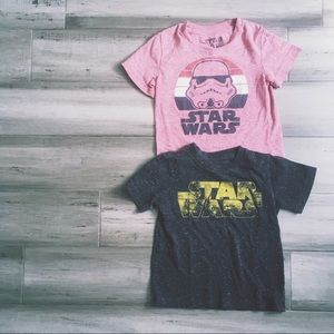 Tops - Toddler size 2T Star Wars t shirt lot